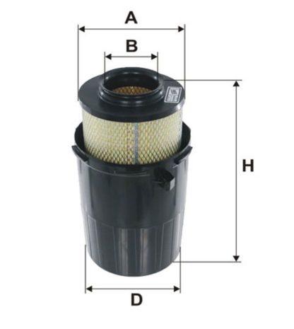 WA6052-Воздушный-фильтр